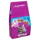 تصویر غذا خشک whiskas تهیه شده از ماهی مخصوص گربه بالغ-1.4گرم