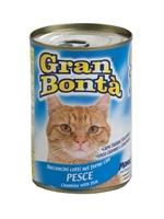 تصویر کنسرو Monge Gran Bonta مخصوص گربه بالغ تهیه شده از گوشت مرغ و ماهی - 415گرم