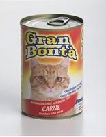 تصویر کنسرو Monge Gran Bonta مخصوص گربه بالغ تهیه شده از گوشت گاو - 415گرم