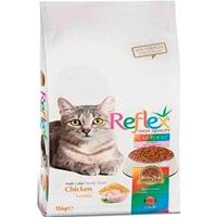 تصویر غذای خشک Reflex مخصوص گربه بالغ تهیه شده از گوشت مرغ - 3 کیلوگرم