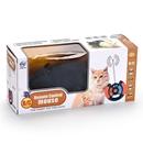 تصویر اسباب بازی موش کنترلی به همراه ریموت از راه دور مناسب برای گربه ها