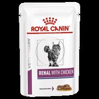 تصویر پوچ گربه Royal Canin مدل Renal مناسب برای درمان مشکلات کلیوی - 85 گرم