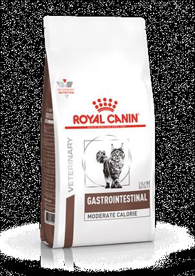 تصویر غذای خشک مخصوص گربه های بالغ Royal canin مدل Gastro Intestinal مناسب برای رفع مشکلات دستگاه گوارش - 2 کیلوگرم