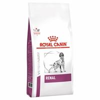 تصویر غذای خشک مخصوص سگ های بالغ Royal Canin مدل Renal مناسب برای سگ های مبتلا به بیماری های کلیوی - 2 کیلوگرم