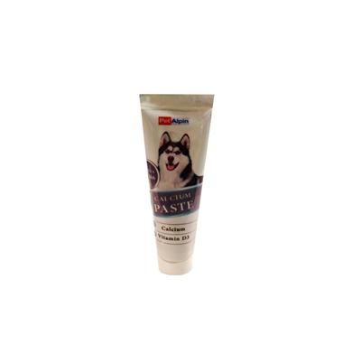 تصویر خمیر مولتی ویتامین Pet Alpin حاوی کلسیوم مخصوص سگ - 100گرم