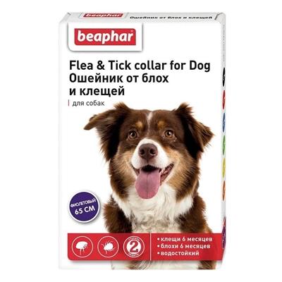تصویر قلاده ضد کک و کنه Beapharمخصوص سگ و گربه