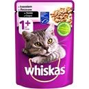 تصویر پوچ گربه Whiskas تهیه شده از سالمون مخصوص گربه-100گرم