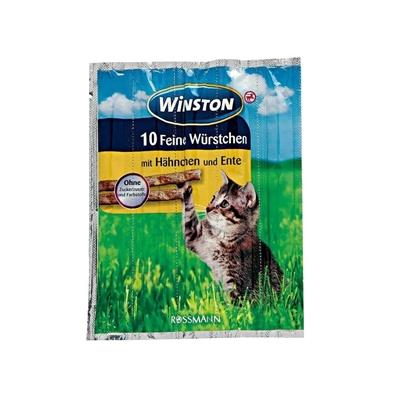تصویر تشویقی مدادی Winstonمخصوص گربه تهیه شده از مرغ-50گرم