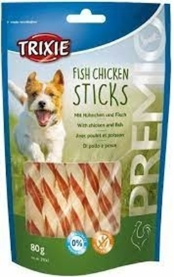 تصویر تشویقی Trixie مخصوص سگ تهیه شده از مرغ و ماهی-80گرم