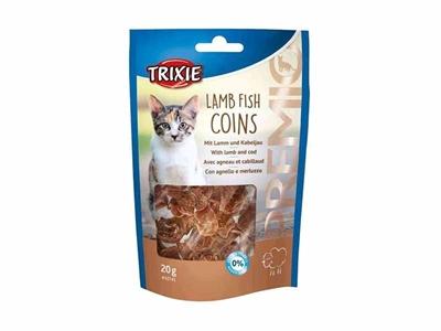 تصویر تشویقی Trixieمخصوص گربه تهیه شده از مرغ و ماهی -20گرم