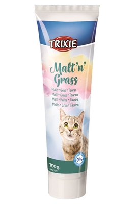 تصویر مالت Trixieمخصوص گربه حاوی علف گربه-100گرم
