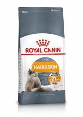 تصویر غذای خشک Royal canin مدل Hair and skin تقویت کننده پوست و موی گربه-10کیلو گرم