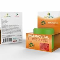 تصویر مکمل Zoovital تقویت کننده سیستم ایمنی بدن مخصوص سگ و گربه - 70گرم