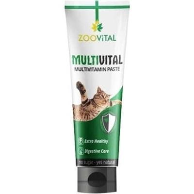 تصویر خمیر مولتی ویتامین Zoovital مخصوص گربه - 100گرم