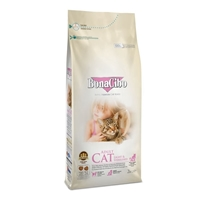 تصویر غذای خشک Bonacibo مخصوص گربه های عقیم شده تهیه شده از مرغ وماهی کولی و برنج -2کیلوگرم