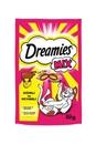 تصویر تشویقی Dreamies مخصوص گربه تهیه شده از گوشت گاو و پنیر - 60 گرم