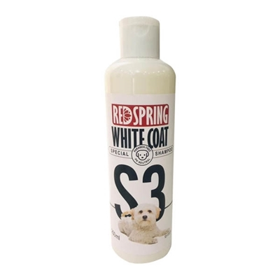 تصویر شامپو Redspring مدل white coat مخصوص سگ با موی روشن-250میلی گرم