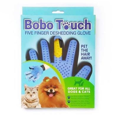تصویر دستکش پرزگیر Bobo touch مخصوص سگ و گربه