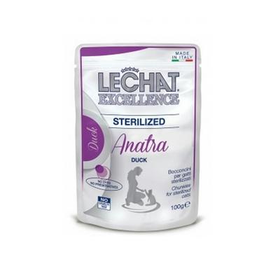 تصویر پوچ Lechat مخصوص گربه عقیم شده با طعم اردک