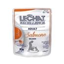 تصویر پوچ Lechat مخصوص گربه بالغ با طعم سالمون