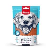 تصویر تشویقی Wanpy مدل Chicken Jerky Strips مخصوص سگ-100گرم