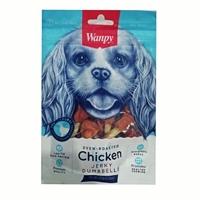 تصویر تشویقی Wanpy مدل Chicken Jerky Dumbbells مخصوص سگ-100گرم