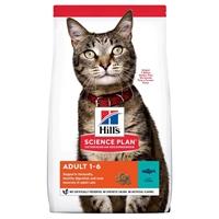 تصویر غذای خشک Hills مخصوص گربه بالغ تهیه شده از گوشت مرغ و ماهی تن - 1.5 کیلوگرم