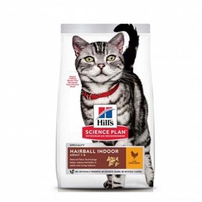 تصویر غذای خشک Hills مدل Hairball مخصوص گربه های 1تا6سال تهیه شده از گوشت مرغ - 1.5 کیلوگرم