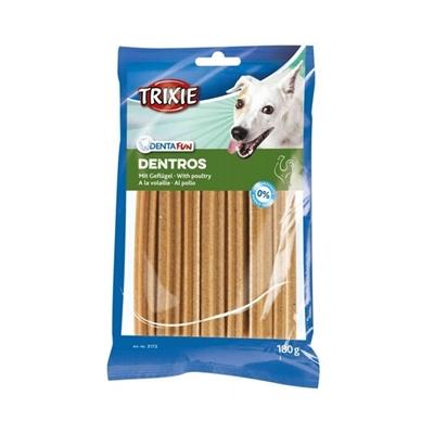 تصویر تشویقی Trixie مخصوص سگ مدل Dentros تهیه شده از مرغ-100گرم