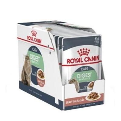 تصویر پوچ Royal canin مدل Digest مخصوص گربه -85 گرم