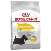 تصویر غذای خشک مخصوص سگ های بالغ نژاد کوچک Royal Canin مدل DermaComfort مناسب برای مشکلات پوستی - 3 کیلوگرم