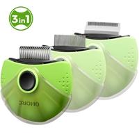 تصویر کیت ارایشی 3 کاره مدل IN3-1 Rotatable Pet Comb چرخشی مخصوص حیوانات