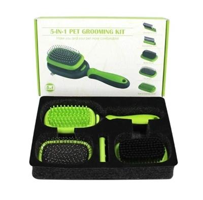 تصویر کیت آرایشی five in one grooming kit مخصوص سگ و گربه