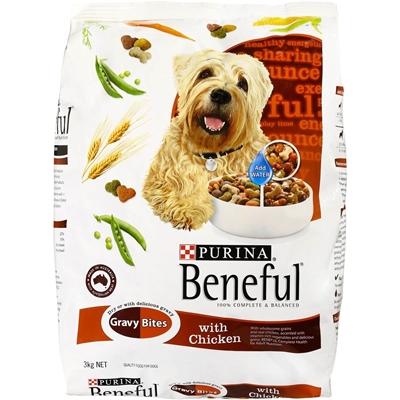 تصویر غذاي خشك Beneful مخصوص سگ تهیه شده از گوشت گاو و سبزیجات  - 1.5 کیلوگرم