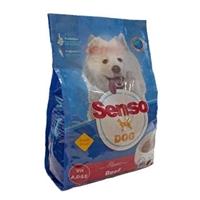 تصویر غذا خشك senso مخصوص سگ تهيه شده از گوشت گاو - 3 کیلوگرم
