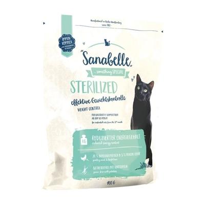 تصویر غذای خشک Sanabelle مدل Sterilized مخصوص گربه بالغ تهیه شده از گوشت مرغ و جگر - 2 کیلوگرم