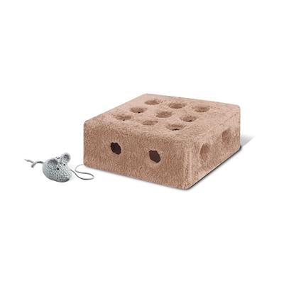 تصویر جعبه پنیری مخصوص گربه سایز 1 به همراه موش