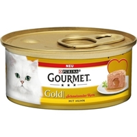 تصویر كنسرو پته Gourmet مخصوص گربه تهيه شده از گوشت مرغ - 85 گرم