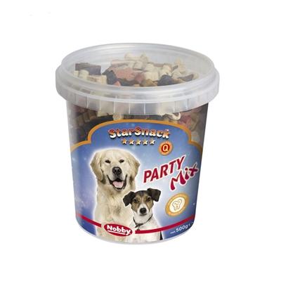 تصویر تشویقی Starsnack سطلی مدل Mini Bones Mix مخصوص سگ - 500 میلی گرم