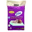 تصویر زیرانداز بهداشتی تافته مخصوص سگ و گربه سایز 60*90 بسته 5 عددی