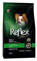 تصویر غدا خشک Reflex plus مخصوص سگ های نژاد کوچک بالغ تهیه شده از گوشت مرغ - 3 کیلوگرم