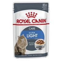 تصویر پوچ Royal canin مدل Light wight care مخصوص گربه - 85 گرم