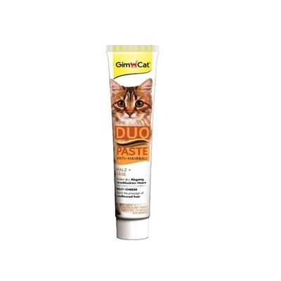 تصویر خميرمالت Gimcat مدل Duo paste مخصوص گربه حاوی پنیر - 50 گرم