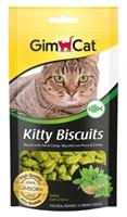 تصویر بيسكوييت Gimcat مدل kitty biscuits مخصوص گربه تهيه شده از ماهی - 40 گرم