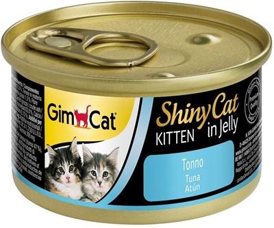تصویر كنسرو Gimcat مخصوص گربه تهيه شده از گوشت ماهی تن - 70گرم