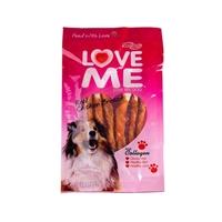 تصویر تشویقی  love me مخصوص سگ مدل مدادی با دورپيج مرغ - 90 گرم