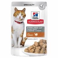 تصویر پوچ Hills مخصوص گربه عقيم شده تهيه شده از گوشت بوقلمون - 85 گرم