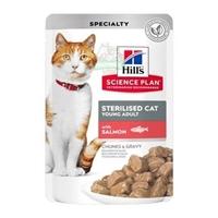 تصویر پوچ Hills مخصوص گربه عقيم شده تهيه شده از گوشت سالمون - 85 گرم